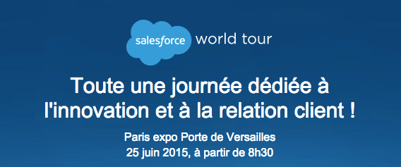Salesforce World Tour Paris 2015