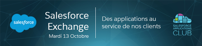 Invitation Salesforce Exchange Mardi 13 octobre 2015 Paris